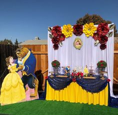 Beauty And The Beast Wedding Cake, Beauty And Beast Birthday, Beauty And The Beast Theme, Bday Girl, 1st Birthday Girls, Birthday Ideas, Lion King Birthday, Disney Princess Fashion, Quinceanera Themes