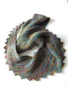 Hitchhiker by Martina Behm, knitted by Pyttan | malabrigo Sock in Diana
