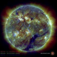 Las llamaradas solares más espectaculares, en imágenes - RTVE.es