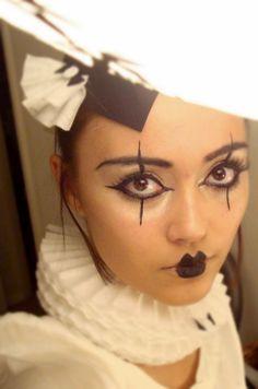 halloween schminke puppe japan china inspiriert schmale lippen