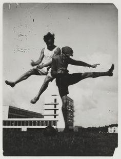 Sport at the Bauhuas, Circa 1927