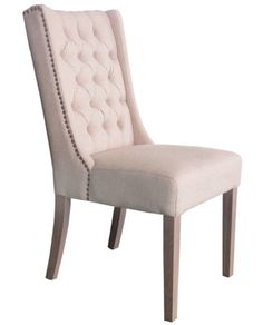 Buttoned Back Essential Dining Chair – Allissias Attic & Vintage French Style
