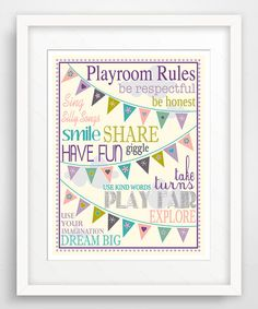 Purple Playroom Giclée Print
