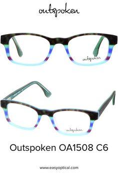 OUTSPOKEN OA1508 C6 Eyewear, Glasses, Easy, Style, Swag, Eyeglasses, Eyeglasses, Sunglasses, Eye Glasses