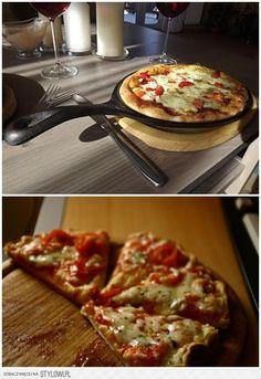 szybka pizza z patelni -10 minut robienia i tyle samo s… na Stylowi.pl