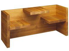 Banco de madeira HP01 TAFEL Coleção Tafel by e15 | design Hans De Pelsmacker