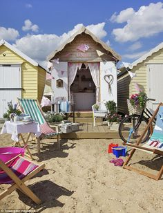 'Betty', at Victoria Esplanade, Mersea Island, has a shabby-chic interior with items sourc...
