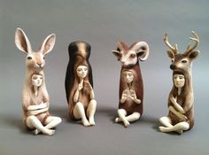 Crystal Morey Ceramic Sculptures http://www.redlodgeclaycenter.com/piece-detail.php?rc=4&rn=0&aid=501&type=artist#.U9O-zIBdUhA