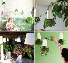 Os Sky Planters são vasos de planta bastante diferentes que ficam de ponta-cabeça e podem ser instalados em qualquer lugar da casa.