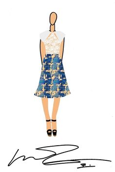 #Vivienne Tam #Spring 2014 Designer Inspirations: New York Collections