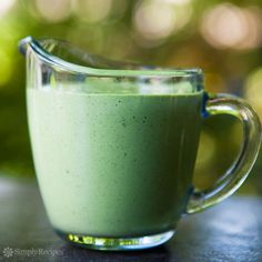 Green Goddess Dressing ~ A classic salad dressing made with parsley, tarragon, chives and sour cream for a tangy finish. ~ SimplyRecipes.com