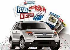 Win a Trip to a NASCAR Race AND a Ford Explorer!