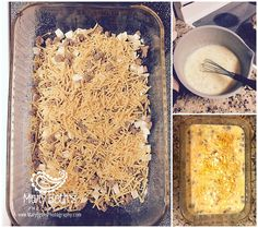 Augusta GA Newborn Photographer | Breakfast Bake | Mary Beth's Photography #marybethsphotography #glutenfree #breakfastbake #breakfastfordinner #wildcoopers #bestclientsever #augustaganewbornphotographer