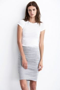 KERSTIE SHIRRED PENCIL SKIRT - Spring 2014 Collection - The Latest - Women