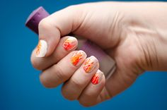 Fire nails! | Photo (and nails) by Bethany of Bethany Mills Photography | Bethanymillsphotography.com
