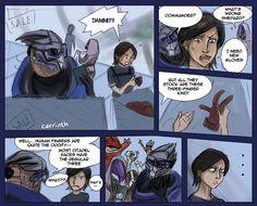 Mass Effect: Gloves by carrinth.deviantart.com on @DeviantArt
