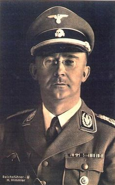 Reichsführer of the SS Heinrich Himmler, and a leading member of the Nazi Party (NSDAP) of Nazi Germany. Marked for high responsibility, Adolf Hitler briefly appointed him a military commander and later Commander of the Replacement (Home) Army and General Plenipotentiary for the administration of the entire Third Reich (Generalbevollmächtigter für die Verwaltung). Himmler was one of the most powerful men in Nazi Germany and one of the people most directly responsible for the Holocaust.