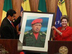 """E Viva a Farofa!: Jabor: 'Venezuela é uma caricatura das velhas ditaduras latinas'. """"Quando o petróleo estava alto, entrou muito dinheiro, mas foi desperdiçado por estupidez e quase tudo roubado pela nova e corrupta burguesia bolivariana. E está tudo ali, escrito na cara do Maduro. A cara dura de maldade, grossura e violência com aquele bigodão tentando exibir macheza."""""""