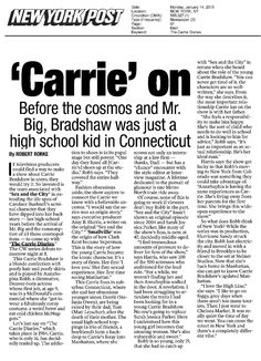 New York Post, The Carrie Diaries