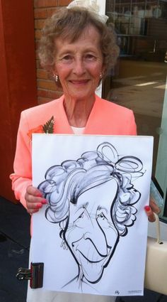 Wedding caricatures on Hayling Island