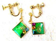 キミドリのイヤリングs