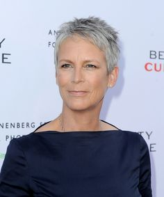 """Actress Jamie Lee Curtis arrives at the opening night of """"Beauty Culture"""" at the Annenberg Space for Photography on May 19, 2011 in Los Angeles, California."""
