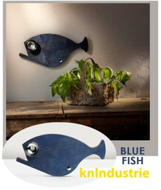 """Searching for a #presentidea? Take a look at #CBStudio """"Gift Ideas"""" section... Today, we suggest BLUE FISH By #Knindustrie --> http://bit.ly/1jbMOPU Available Now in our web-site.  #Design #DecorIdeas #InteriorDesign #ILoveDesign #Home"""