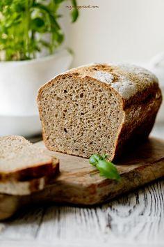 Tatterowiec – chleb razowy na zakwasie Bread Recipes, Breads, Brot, Bread Rolls, Bakery Recipes, Bread, Braided Pigtails, Buns