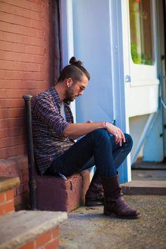 Hair,Shirt,Jeans,Mens,Menswear,Boots,Street,Hip,Hipster