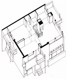 MY ARCHITECTURAL MOLESKINE®: GERRIT RIETVELD: SCHRÖDER HOUSE