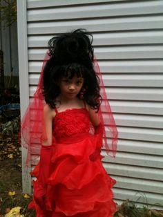 Lydia wedding dress by ryoko demon on deviantart halloween diy beetlejuice costume lydia deetz costume my lil lydia deetz solutioingenieria Choice Image
