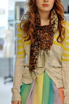her mom made this scarf