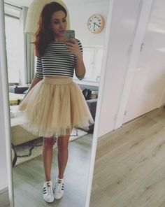 Nadia is wearing our cute TUTU! How cute is this outfit?! XOXO