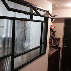 Pin on 仕切り Screen Design, Door Design, House Design, Asian Interior, Interior And Exterior, Interior Design, Iron Windows, Windows And Doors, Office Walls