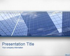 Fondo PowerPoint para negocios gratis con imagen de oficinas pronta para ser…