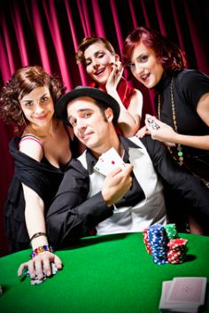 Poker table would be fun at the casino omg love it