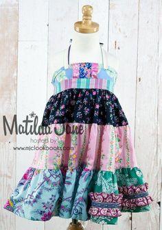 Ellie Dresses ~ Tiered & Paneled   Mjc LookBooks - Janeberry Tiered Ellie Dress