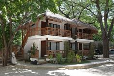 dream house: dreamhouse Bamboo House Design, Tropical House Design, Tropical Beach Houses, Dream Beach Houses, Hut House, Tiny House Cabin, Filipino House, Beach Bungalows, House Goals