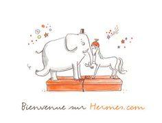 Image comique Hermès.