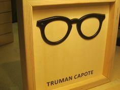 Famous Glasses: TRUMAN CAPOTE