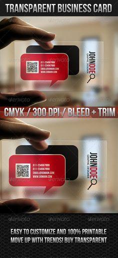 Transparent Quick Responsive Business Cards - http://www.bce-online.com/en