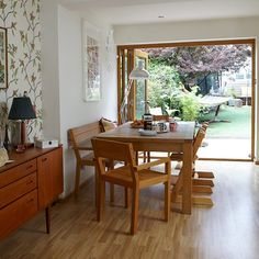Dining area | 1960s terrace | House tour | PHOTO GALLERY | Style at home | Housetohome.co.uk