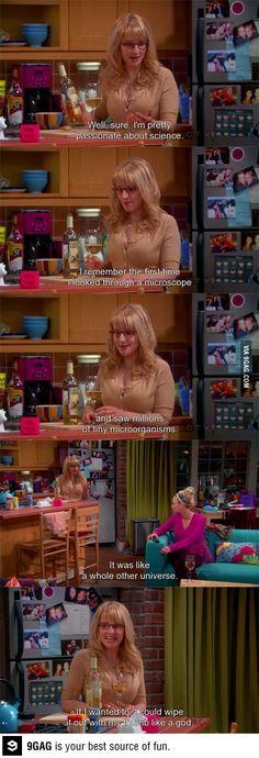 Bernadette's fantasies-- I totally get her.