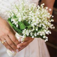 See to - свадебный букет из ландышей фото - see2me