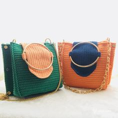 Patrón y Video- Bolso Crochet – Original – Comando Craft