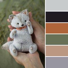 Colour Palette: Teddy Kitten | Ярмарка Мастеров в цвете: 15 ярких палитр с авторскими работами - Ярмарка Мастеров - ручная работа, handmade