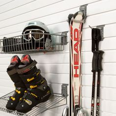 Ski storage - Put it away damp and let it dry.