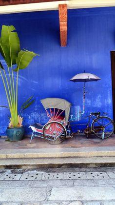 Blue Mansion, Georgetown, Penang, Malaysia: