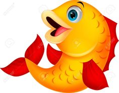 Cute Fish Cartoon Royalty Free Cliparts, Vectors, And Stock ...