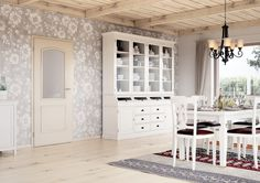 Dveře Sapeli ve stylu PROVENCE - VENECIA CPL slonová kost Decor, Room Divider, Furniture, Home Decor, Room